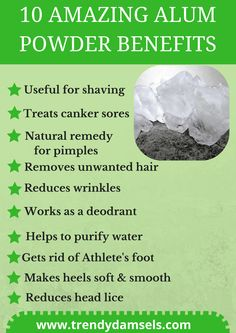 15 Alum powder Uses and benefits for skin hair and health Natural Remedies For Pimples, Pimples Remedies, Natural Health Remedies, Hair Removal Diy, Natural Skin Care, Natural Beauty, Natural Oils, Healthy Skin, Essential Oils