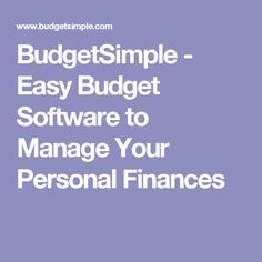 website teaches financial planning and has many helpful finances