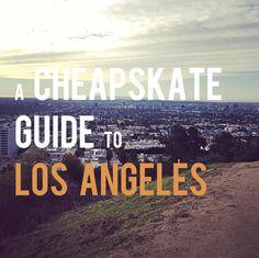 A Cheapskate Guide to Los Angeles: Cheap LA hotels, cheap LA eats, cheap LA shopping, and free things to do in LA.