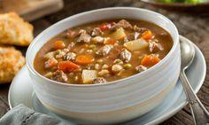 Quoi de mieux qu'une bonne soupe boeuf et orge pour se régaler en février!