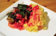 Rote-Bete-Seitan-Roulade bei Maria  http://the-vegan-way-mofo.blogspot.de/2012/10/3-vegan-wednesday-9.html#