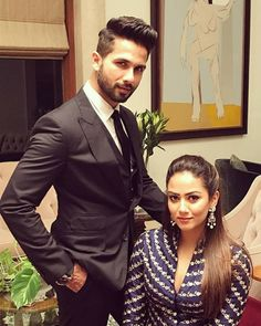 - The Entire Bollywood is wishing the cutest tinsel-town couple Shahid Kapoor and Mira Rajput Kapoor, who are blessed with a baby boy Bollywood Couples, Bollywood Photos, Bollywood Celebrities, Bollywood Actress, Bollywood Fashion, Bollywood Bikini, Bollywood Stars, Mira Rajput, Indian Groom Wear