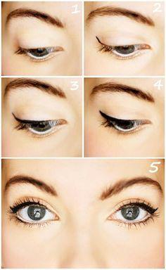 Cómo delinear ojos