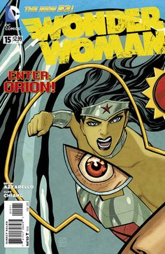 Review of Wonder Woman 15, by @fred42