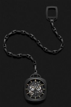 Officine Panerai Pocket Watch Tourbillon GMT Ceramica