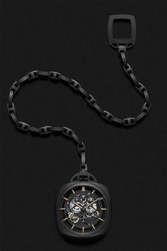 Officine Panerai Pocket Watch Tourbillon GMT Ceramica