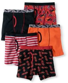 2-12 Years La Redoute Collections Big Boys Pack of 3 Hipsters
