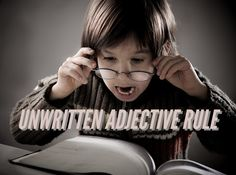 Unwritten Adjective Rule Stuns Word People Who Never Noticed