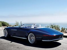 Vision Mercedes-Maybach 6 Cabriolet Unveiled - Kelley Blue Book