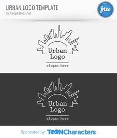 Urban logo template with a modern look and feel. This logo template could fit well to different kind of business, media and technology related projects. Continue reading →