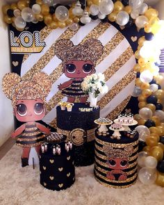 Le plus chaud Images lol queen bee Concepts Lol Doll Cake, 7th Birthday Party Ideas, Girls Party Decorations, Doll Party, Lol Dolls, Party Time, Queen, Instagram, Fiesta Decorations