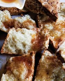 Cheddar Mustard Scones from the book 'Ovenly: Sweet and Salty Recipes from New York's Most Creative Bakery' by Agatha Kulaga & Erin Patinkin | Sweet Paul Magazine