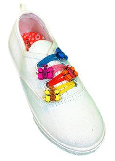 FUNGEEZ   Elastic Shoe Bands   Elastic Shoe Laces   Girls