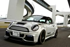 White silver, black roof, silver strips. Body color trim that's not black plastic?? Love it!