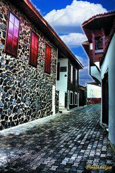Kula evleri/Manisa/// Kula evleri 18. yy Osmanlı İmparatorluğu'nun altındaki hemen her bölgede karşımıza çıkan ve TÜRK EVİ olarak tabir edilen ahşap evlerdir. Gerek plan, kuruluş ve gerekse ahşap, alçı ve kalem işi gibi zengin sistemleriyle bu dönem Osmanlı Sanatı nın başarılı örnekleridir. 19, yy da devam eden yapı tipiyle Kula tipik bir Osmanlı Kent dokusuna sahiptir.