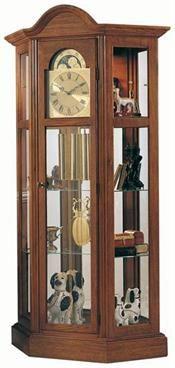 Richardson II Curio Grandfather Clock