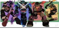 Read Donas🍩💜 from the story Memes, imagenes, avisos y mas de TMNT by ysasalva (~★° Tmnt 2012, Ninja Turtles Art, Teenage Mutant Ninja Turtles, Cartoon Junkie, Tmnt Girls, Leonardo Tmnt, Tmnt Comics, Yoshi, Mikey