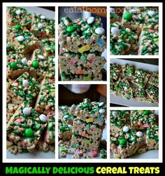Magically Delicious Cereal Treats - Eat at Home