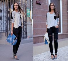 More than 10000 people like this style, the picture is from blog.globalstreet.com