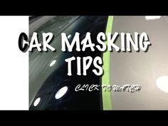 Auto Paint Shop Tips For Masking Moldings For An Awesome Car Paint Job Car Paint Jobs, Auto Paint, Auto Body Work, Auto Body Repair, Car Repair, Car Fix, Car Restoration, Car Hacks, Diy Car