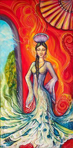 EvaRuizArt.com - Dancer, eva ruiz, visionary art