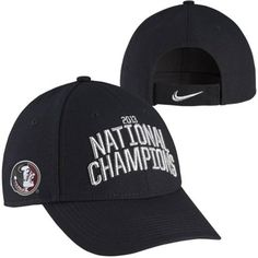 Nike Florida State Seminoles (FSU) 2013 BCS National Champions Locker Room Coach's Adjustable Hat - Black