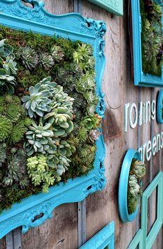 Far Above Rubies: Succulent Planter Box | DIY Home Decor | Pinterest ...