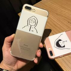 >> Click to Buy << Korean Cartoon Cute Raincoat Girl Phone Case For Apple iPhone 6 6S 7 7 Plus Case Soft TPU Transparent Back Cover Coque #Affiliate