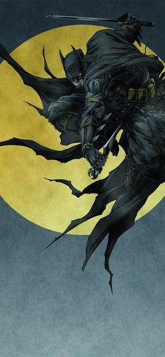 19 Batman Ninja on afari iPhone 11 Wallpapers