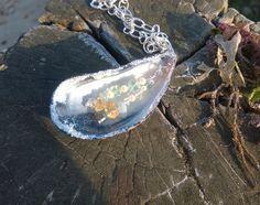 Mermaids' Joy Necklace with Swarovski Pearls & by FulfilledWishes