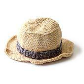 Ravelry: Kid's Sun Hat #90263AD pattern by Lion Brand Yarn
