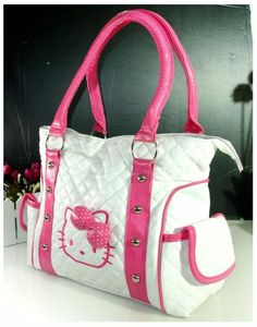 New Hellokitty Handbag Shoulder bag Purse Hello Kitty House, Hello Kitty Bag, Hello Kitty Items, Hello Kitty Merchandise, Hello Kitty Handbags, Miss Kitty, Hello Kitty Collection, Cat Bag, Handbag Accessories