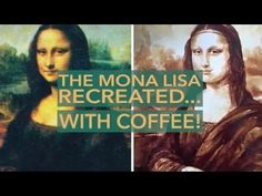 http://UpCycle.Club prolific member and mesmering coffee artist Maria A. Aristiou recreated the Mona Lisa just.with coffee! #bella #UpCycleART #HistoryProject @upcycleclub