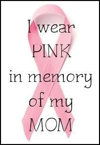 <3 I wear PINK in memory of my MOM <3 Breast Cancer Crafts, Breast Cancer Quotes, Breast Cancer Tattoos, Breast Cancer Shirts, Breast Cancer Support, Miss Mom, Pancreatic Cancer Awareness, Pink October