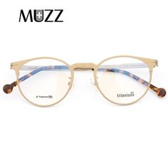 03883e3c83 Titanium Glasses Frame Men Female Lightweight Material Vintage Prescription  Eyeglasses Full Myopia Optical Women Frames Eyewear