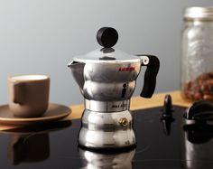 Coffee for one? Moka Alessi ~ too cute....