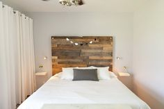 I'm always drawn to the the clean lines of modern....Finley and Oliver: Mini Bedroom Makeover