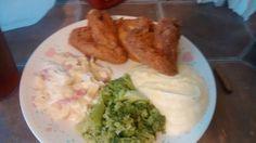 Dinner is served #Yummy #ItLookGuudHuh
