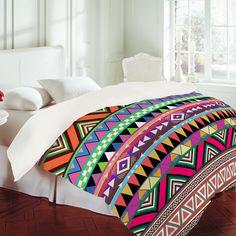 crazy, colourful duvet cover