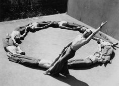Ted Shawn and His Men Dancers in Kinetic Molpai, 1935 | Jacob's Pillow Dance Festival