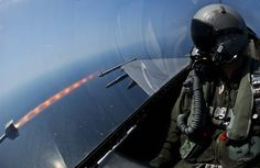 Inside Aircraft View Missile Launch Wallpaper