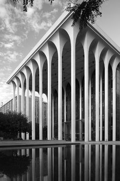The ING Reliastar Building, formerly the Northwestern National Life Insurance Building, in Minneapolis, Minnesota, was designed by Minoru Yamasaki in 1964