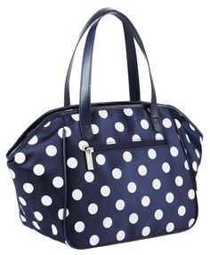Sachi Black And White Dots Insulated Lunch Bag By 23 95 Handles Fold Down To Fit In Any Refrigerator Color With