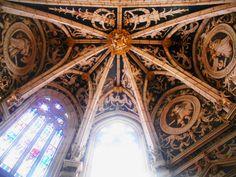 Bóveda renacentista de la Capilla de San Pedro o de los Reyes.Catedral de San Antolín de Palencia