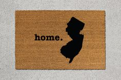 New Jersey Home Door Mat - $39