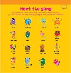 New!! Meet the Gang Sticker Sheets