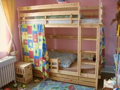 Free Plans To Build A Bunk Bed