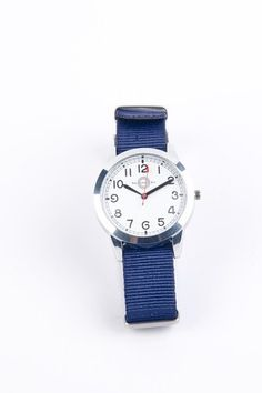 Hemingway Style Hemingway Military Watch with White Face