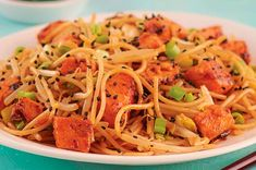 Pasta Ligera, Seafood, Spaghetti, Gluten Free, Lunch, Asian, Cooking, Ethnic Recipes, Health