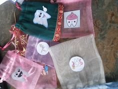 Gift Envelope, Tooth Fairy, Organza Bags, Wands, Kit, Etsy, Walls, Chopsticks, Sticks